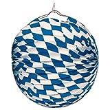 NET TOYS Oktoberfest Lampion Bayern Papier Laterne Wiesn Papierlampe Deko Ballon Bayrische Feier Bierzelt Partylaterne Mottoparty Festzelt Bayernraute Partydeko Bayrisch