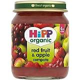 HiPP Organic Fruit Rouge & Compote de pommes 125g
