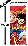 CoolChange Poster para enrollar /Kakemono de One Piece Hecho de paño,...