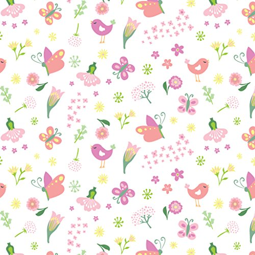 SwaddleMe Original Swaddle Tasche, groß, Blumen/Schmetterlinge
