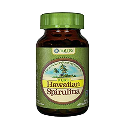 Nutrex Hawaii Spirulina Tablets 200 Tablets by Nutrex