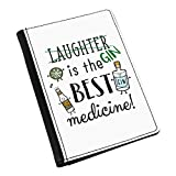 Gelächter Gin ist The Best Medikament Pass-Etui Deckel