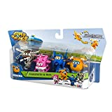 ColorBaby - Super Wings - Dizzy, Donnie, Jerome, Bello - Pack 4...