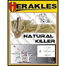 Herakles, Gamera - Cebo artificial de lanzado, 14,17 gramos. Black Bass., Natural Killer