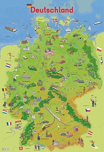 Preisvergleich Produktbild Mein Lernposter: Deutschland