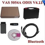 Shine @ Outil de diagnostic VAS 5054A ODIS V4.13 Bluetooth avec OKI Support UDS Protocol Pour VW / Audi / Skoda / Seat (1996-2017)