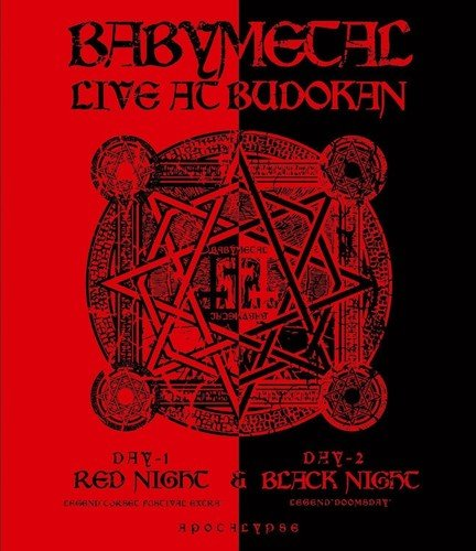 Babymetal - Live at Budokan/Red Night & Black Night Apocalypse [Blu-ray] -