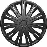 Picture Of VAUXHALL VIVARO 01> 16 Inch Spark Black Car Alloy Wheel Trims Hub Caps Set of 4