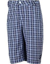Ziener - Pantalón corto infantil, talla 16 años (170 cm), color negro