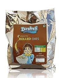 Zerobeli Gluten Free Rolled Jumbo Oats, 1 kg
