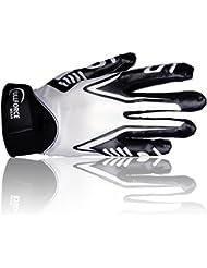 Full Force Titanium Lite Récepteur Football américain Gants, blanc, Taille S–XL