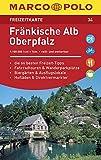 MARCO POLO Freizeitkarte Blatt 34 Fränkische Alb, Oberpfalz 1:100 000: im Dispenser mit 10 Exemplaren (MARCO POLO Freizeitkarten) -
