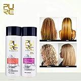 Royal Beauty PURC Brazilian keratin treatment + purifying shampoo Straightening hair Repair