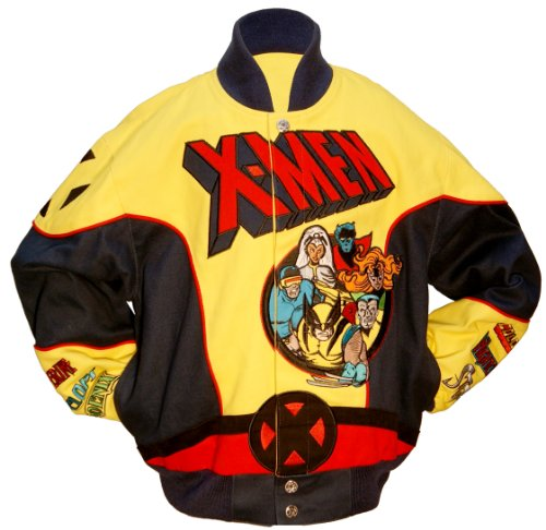 Marvel Comics Kind X-Men Anzug Youth Jacke, Kinder, gelb/blau (X Men Anzüge)
