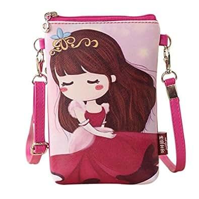Squarex Lovely Girls Shoulder Bags Princess Handbags Cartoon - Cartoon handbags
