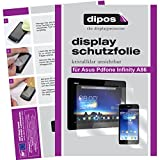 dipos I 6x Schutzfolie klar passend für Asus Padfone Infinity A86 (Tablet & Smartphone) Folie Displayschutzfolie (3x Vorder- & 3x Rückseite)