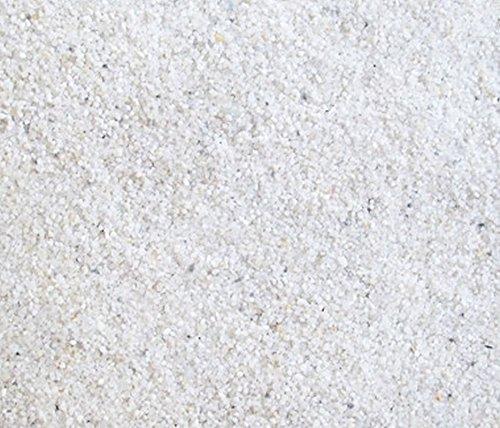 """15 Kg weißen Quarzsand """"Premium Qualität von Orbit"""" 0,5-1,0mm Bodengrund Aquariumsand Kies Sand"""