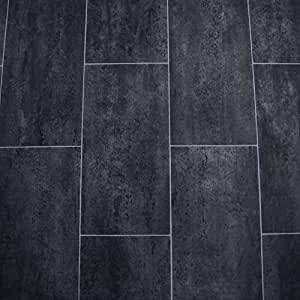 lames sol en pvc noir melbourne noir 2 m largeur 9 5 eur. Black Bedroom Furniture Sets. Home Design Ideas