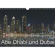 Abu Dhabi und Dubai (Wandkalender 2019 DIN A4 quer): Zwei Motropolen am Persischen Golf (Monatskalender, 14 Seiten ) (CALVENDO Orte)