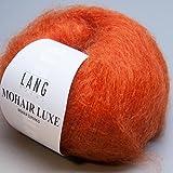 Lang Yarns Mohair Luxe 0075 mandarine