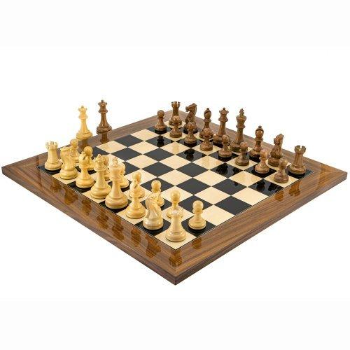 Die Exekutive Palisander Schachspiel