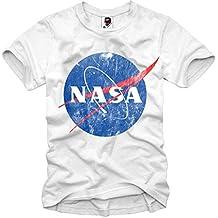 E1SYNDICATE T-SHIRT VINTAGE NASA GEEK HIPSTER BLOGGER NERD SPACE DJ S-XL
