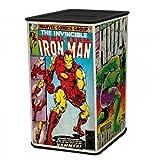 Marvel Avengers Spardose aus Metall - Marvel Superhelden Sparschwein Sparbüchse Marvel Logo