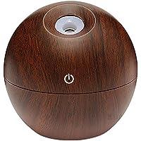 SODIAL Difusor de aceite esencial de Aroma USB Humidificador de niebla ultrasonico Purificador de aire de