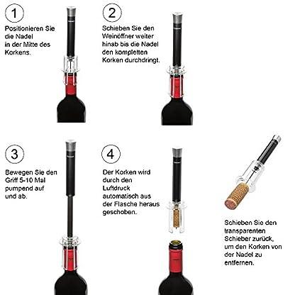 Weinffner-mit-Luftdruck-Weinflasche-mit-Korkenzieher-in-Sekunden-ffnen-Aus-Metall