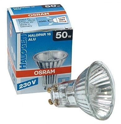 20 St. Osram Halopar 16 50W 35Gr GU10 230V 64824FL ALU-Reflektor von Osram auf Lampenhans.de