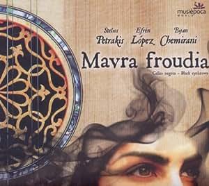 Mavra froudia - Celles negres - Black eyebrows