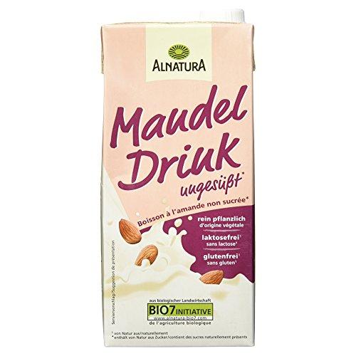 Alnatura Bio Mandel Drink ungesüßt, 1 l