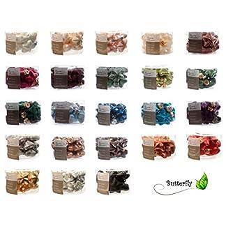 12-Weihnachtskugeln-Glas-Sterne-40mm-Christbaumkugeln-Baumkugeln-Weihnachtsdeko-Kugeln-Glaskugeln-Dose