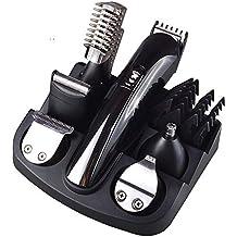 Electric Hair Trimmer Grooming Kit, Lovebay todo en uno multifuncional batería afeitadora PELO nariz orejas barba bigote tijeras cortauñas Traje cortador de pelo para peluquería