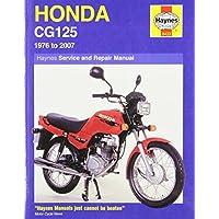 Honda CG125 (1976-2000) Service and Repair Manual (Haynes Service and Repair Manuals)