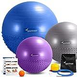 Sportneer Anti-burst Dual-sided Yoga / Excercise / Balance - Best Reviews Guide