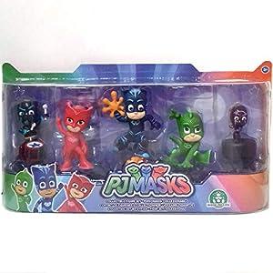 Giochi Preziosi PJ Masks PJM05 Toy Figure Figuras coleccionables Niños - FiFiguras de acción y colleccionables (Figuras coleccionables, Multicolor, Series de TV y Cine, Niños, Pyjamask, Niño)
