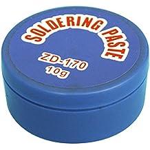 Pasta soldar 10grs soldadura Vaselina desoxidante para facilitar la soldadura y estañado de metales ElectroDH 04.050
