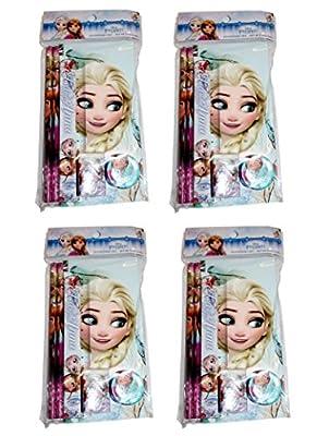 24piezas Disney Frozen 4paquetes de texto Juego Como Regalo de Kids Licensing