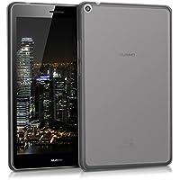 kwmobile Funda para Huawei MediaPad T3 8.0 - Carcasa [Trasera] para Tablet de [Silicona TPU] - Cover en [Negro]