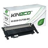 Toner kompatibel zu Samsung CLT-K406S CLP-360 N ND Series 365 W CLX-3300 3305 FN FW W Series Xpress C410 C460 FW W Series - Schwarz 1.500 Seiten