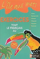 pack 5ex l'ile aux mots cm1 cahier exercices