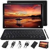 GOODTEL Tablet 10 Pulgadas Full HD Android 9.0 con Ranuras para Tarjetas SIM Dobles Procesador de Cuatro Núcleos, 3G + 32GB, Doble Cámara, WI-FI, GPS