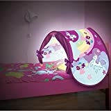 Sleepfun Tent® Magische Bett-Traumzelt Pop up-Zelt für Kinder in (2-Varianten) Party Planet oder Fairy Dream - Original aus TV-Werbung (Fairy Dream)