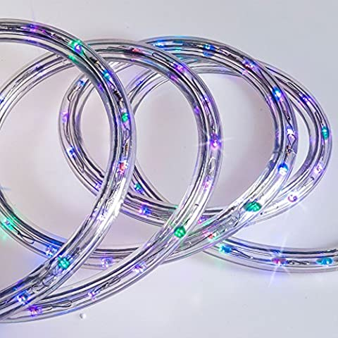 Paradise 18ft Durable Weather-Resistant, Safe and Energy Efficient Indoor/Outdoor Multi-Coloured LED Rope