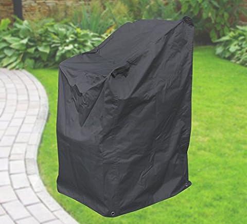 Confort Housse de protection pour chaises empilables, chaise capot de protection, anthracite, 63x 79x