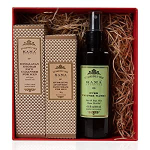 Kama Ayurveda Daily Face Care Regime for Men