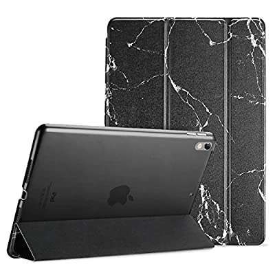 "ProCase Apple iPad Pro Case 10.5"" 2017 - Ultra Slim Lightweight Stand Smart Case with Translucent Frosted Back Cover for 2017 New 10.5-inch iPad Pro, With Auto Sleep/Wake Feature"