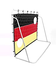 Zelsius - Fußballtor mit Netz und Torwand, XXL Soccer Goal, Fussball Tor