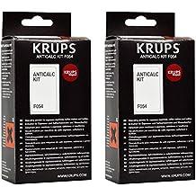 Krups F054 - Kit desincrustante de cal para cafeteras (2 unidades)